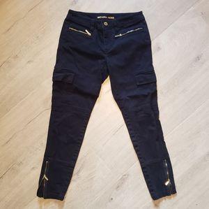 MK Navy Cargo Pants